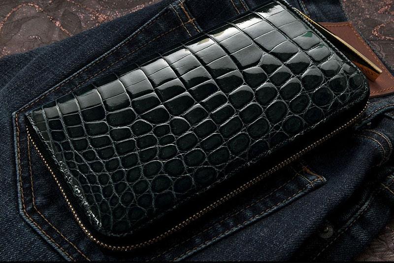 極上のクロコダイル財布が欲しい。日本が誇る良質な国産ブランドのクロコウォレット8選