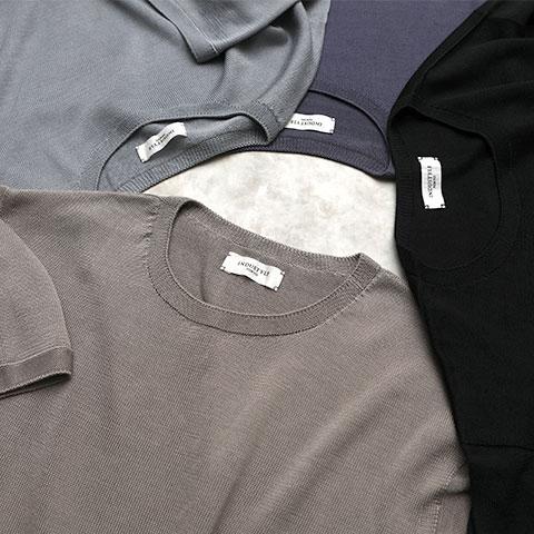 ホールガーメント Zero-Tee半袖 シルク100%