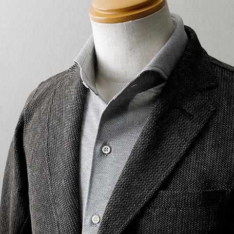 イズミールコットン半袖プルオーバーシャツ